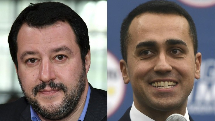 """Salvini appello per il governo a M5S: """"Trattiamo"""". Di Maio: """"Si è piegato a Berlusconi, subito al voto"""""""