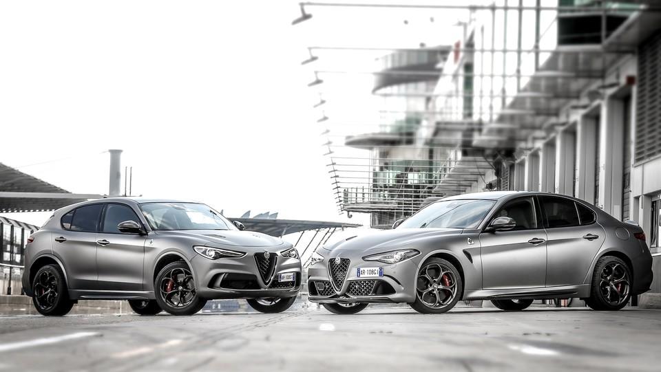 Alfa Romeo Stelvio E Giulia Per I Collezionisti