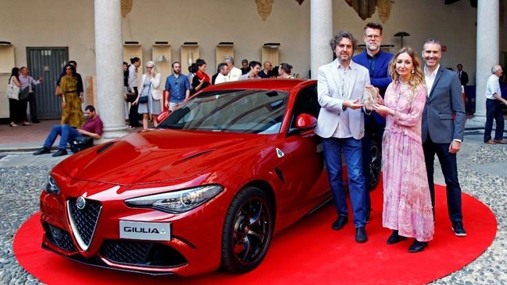 """Alfa Romeo: la Giulia vince il """"Compasso d'Oro"""""""