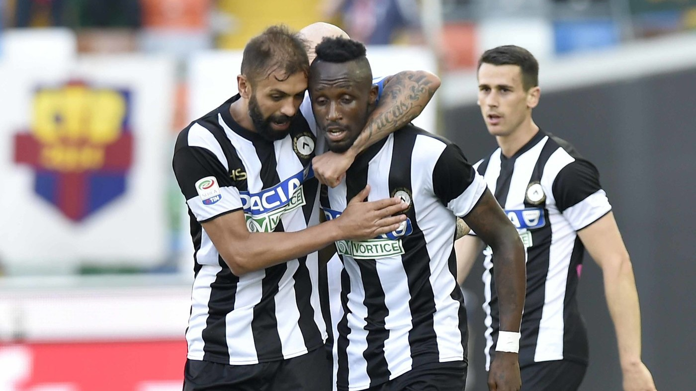 L'Udinese resta in serie A. Brutta stagione, grazie Fofana