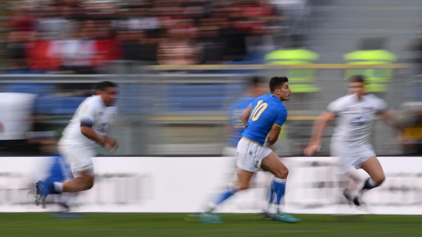 Rugby, Italia-Inghilterra 15-46, IL FOTORACCONTO