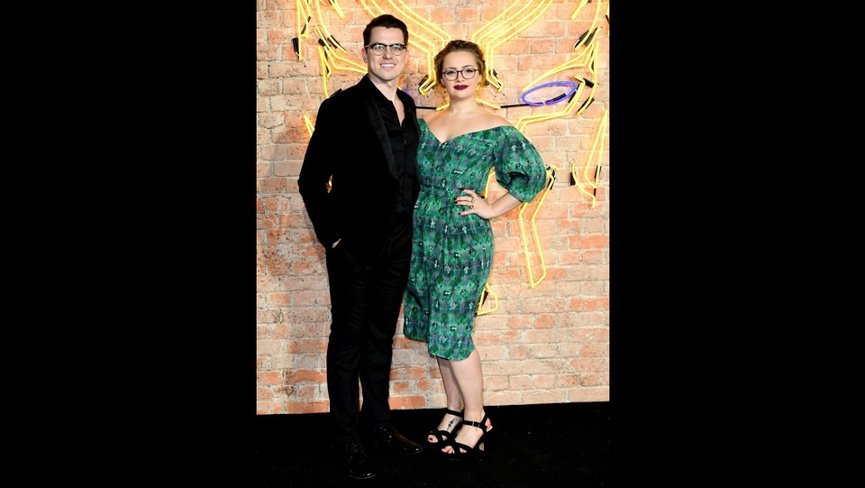 Pete Bucknell e Carrie Hope Fletcher ©PA/Lapresse