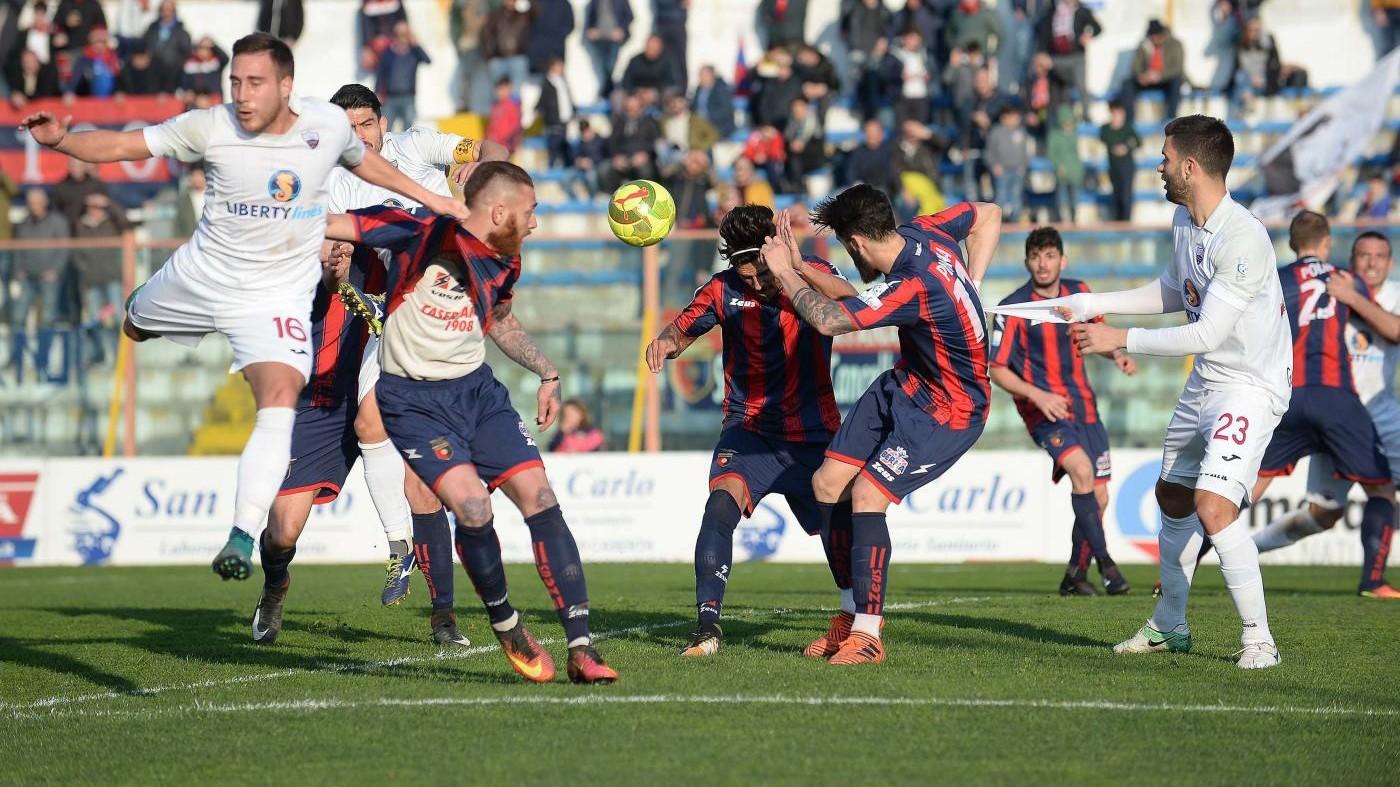 Lega Pro, Casertana-Trapani 0-0 | IL FOTORACCONTO