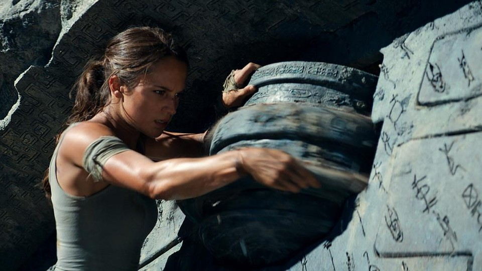 Scene del film in uscita 'Tomb Raider' ©PictureLux