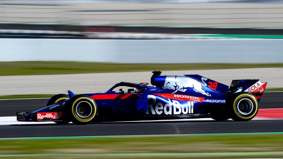 Brendon Hartley (Toro Rosso) ©AFP/LaPresse