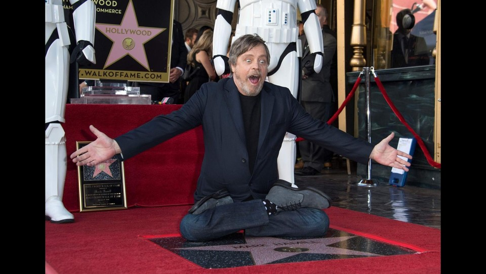 Hollywood, una stella sull Walk of Fame per Mark Hamill ©AFP/LaPresse