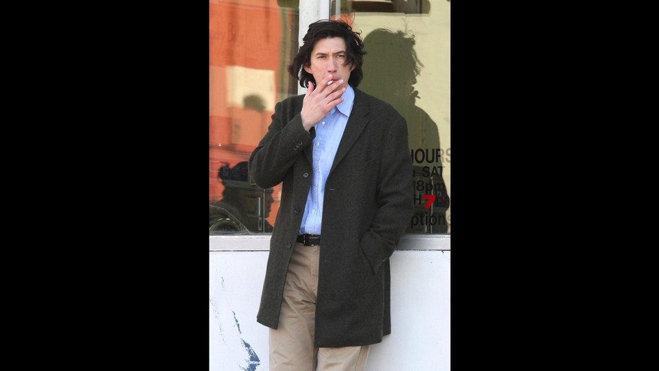 Scarlett Johansson e Adam Driver sul set a New York ©Backgrid
