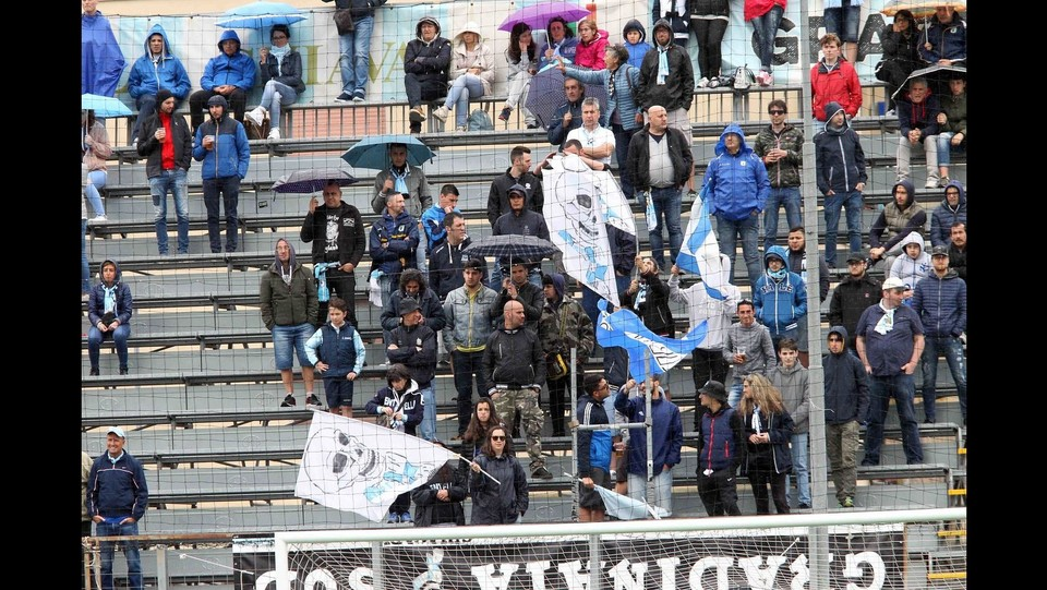 I tifosi dell'Entella ©Tano Pecoraro/LaPresse