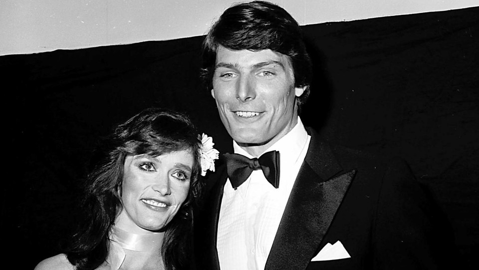 Margot Kidder e Christopher Reeve nel 1979 ©Sipa Usa/LaPresse