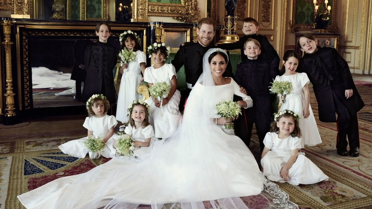 Harry e Meghan, le prime foto dell'album di nozze