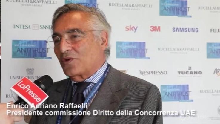 """Antitrust, Raffaelli: """"Non è un problema ma un'opportunità"""""""