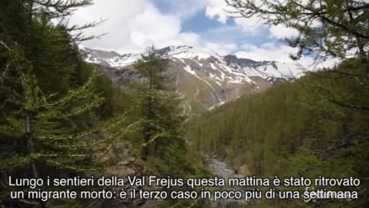 Migranti, trovato cadavere al confine tra Italia e Francia