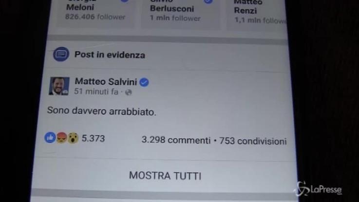 Di Maio, no comment al post su Facebook di Salvini