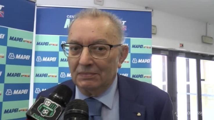 """Squinzi: """"La situazione del Milan? Bisogna chiederlo ai cinesi"""""""