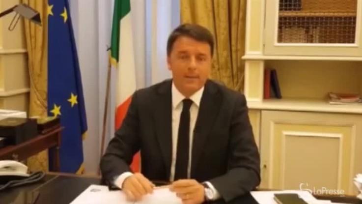 """Renzi: """"Terza Repubblica? Salvini e Di Maio ci riportano in terza media"""""""
