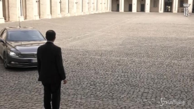 Quirinale, l'arrivo di Cottarelli