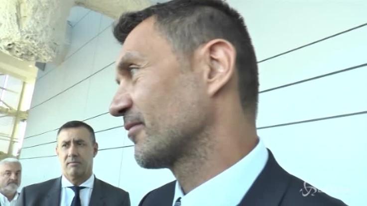"""Maldini: """"Milan? Nello sport ci sono alti e bassi"""""""