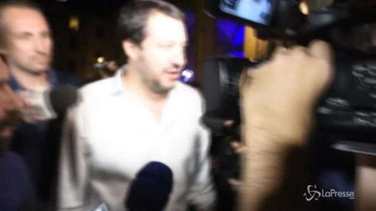 """Salvini: """"Qualunque cosa accada voglio mantenere la parola data"""""""