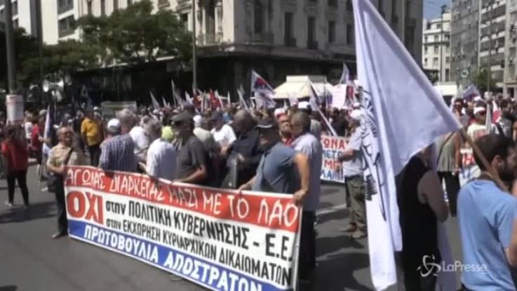 Grecia, sciopero generale contro l'austerity