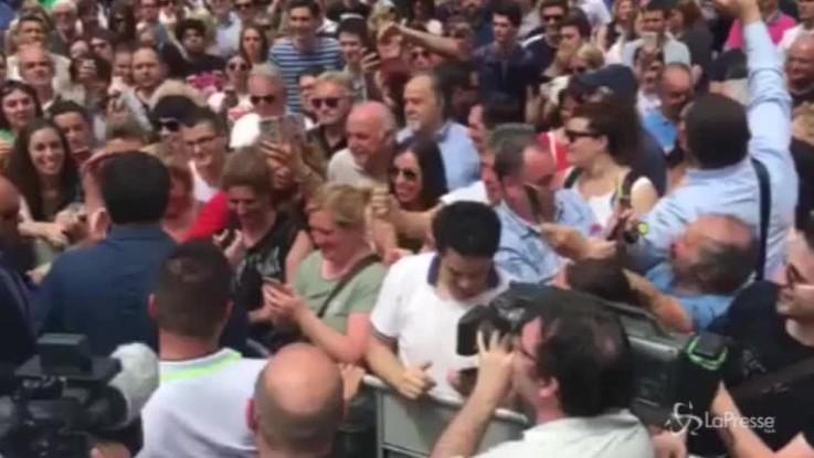 """Salvini ringrazia Massa: """"Mi sono emozionato!"""""""