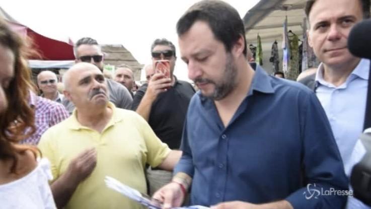 """Salvini: """"Mattarella aggredito? Si è preso una responsabilità sbagliata"""""""