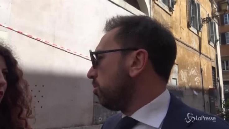 """Bonafede (M5S): """"O nasce un governo politico o si va al voto"""""""