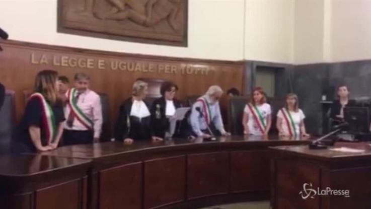 Caso Uva, la lettura della sentenza in tribunale