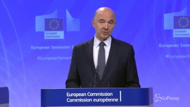 """Moscovici: """"Basta interferenze sull'Italia"""