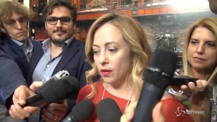 """Governo, Meloni: """"Nessun ministro di Fdi 'a nostra insaputa'"""""""