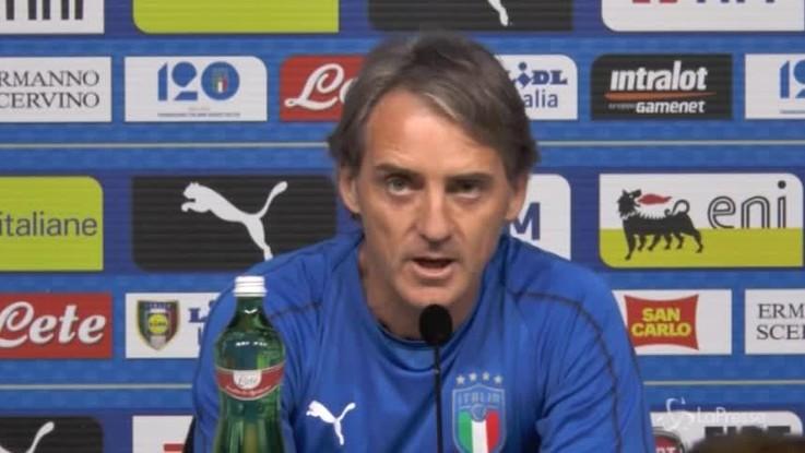 """Italia, Mancini: """"Balotelli ha qualità, ma me ne basta uno"""""""