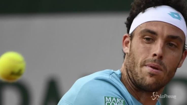 Roland Garros, Cecchinato ai quarti di finale