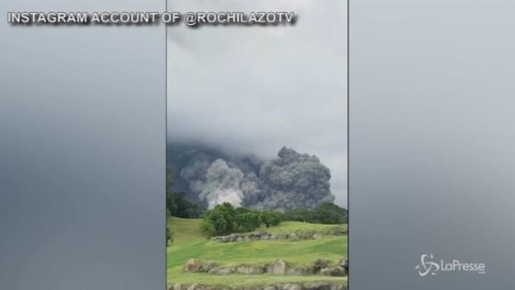 Guatelama: erutta il vulcano de Fuego, oltre 20 morti
