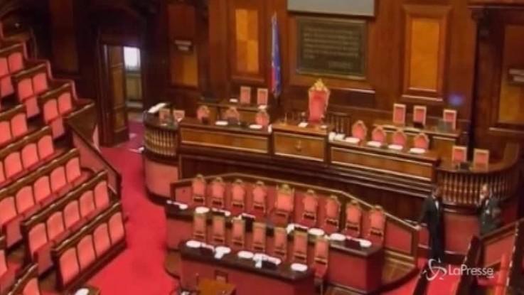 Governo, prima prova di fiducia al Senato