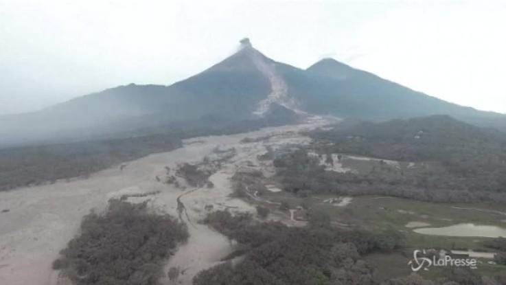 Guatemala, le immagini della devastazione riprese dal drone