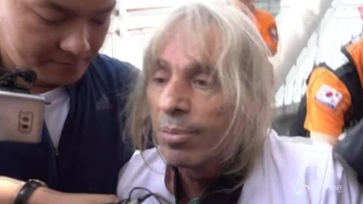 Arrestato a Seoul lo spiderman francese Alain Robert