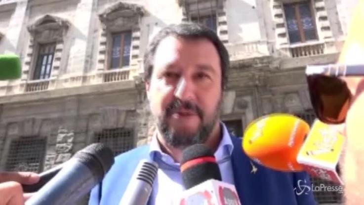 """Flat tax, Salvini: """"Spiace che sia circolata una notizia sbagliata"""""""