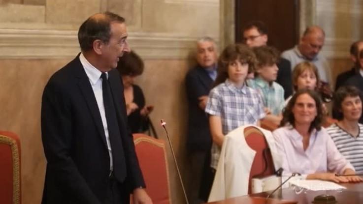 "Milano, Sala riconosce 9 bambini ""arcobaleno"""