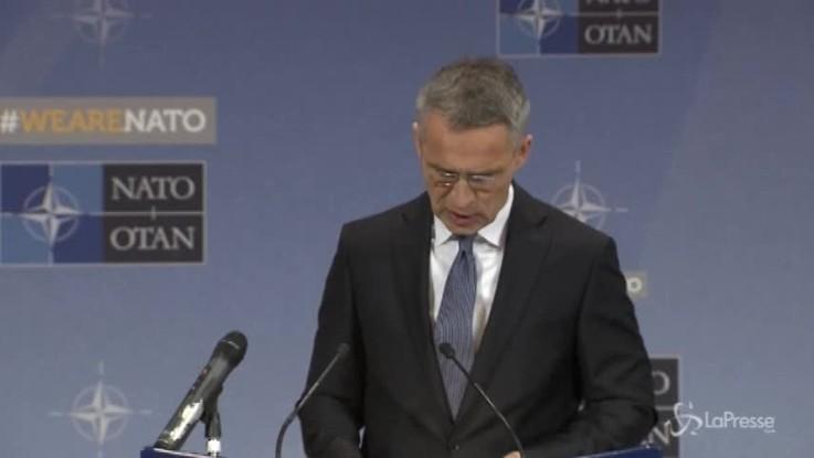 """Nato: """"Sanzioni a Russia restano"""""""