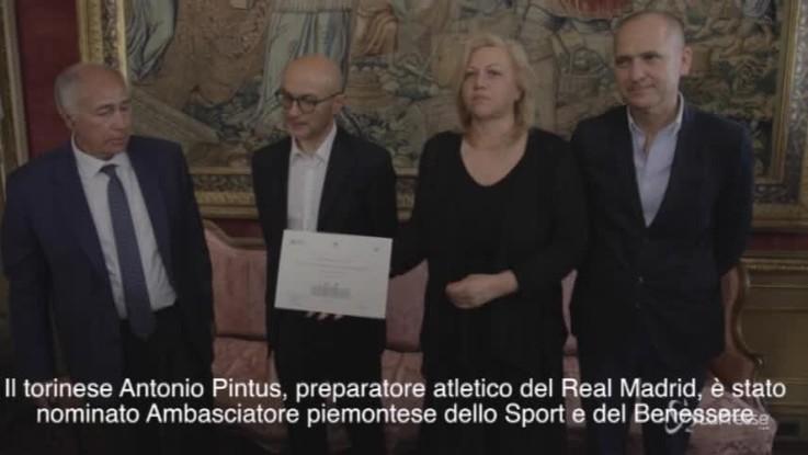 Pintus, il guru di Ronaldo ambasciatore dello sport