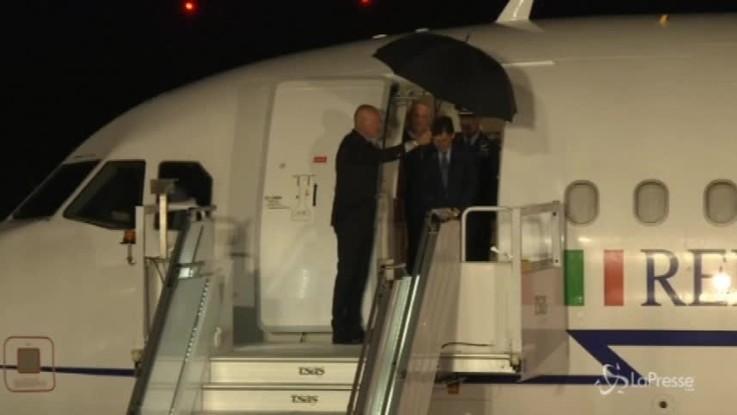 Canada, G7: l'arrivo del premier Conte in Quebec
