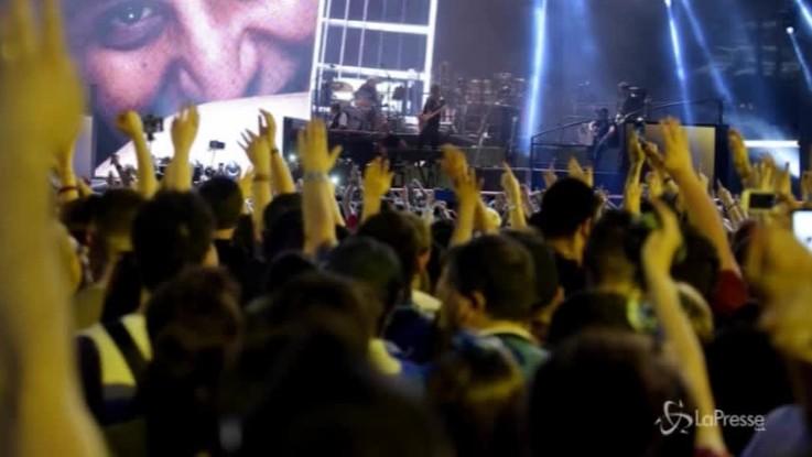 Napoli, 45mila al San Paolo per Pino Daniele