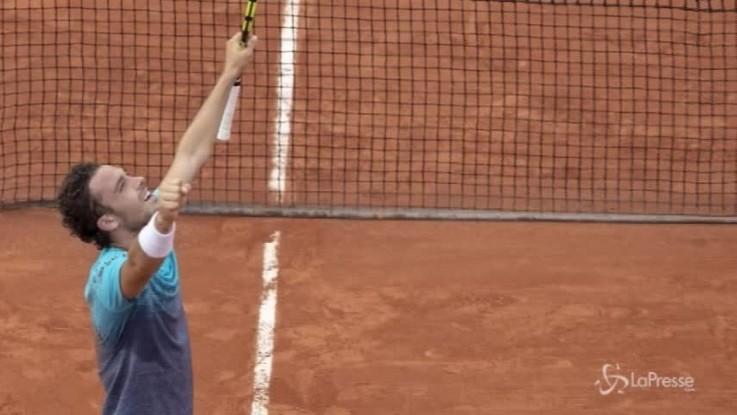 Roland Garros, Cecchinato per la finale e la storia