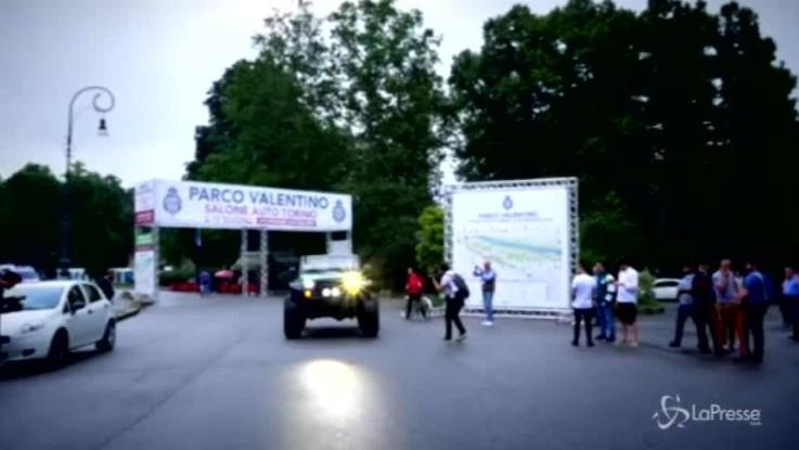 Fca alla Supercar Nighr Parade con Alfa Stelvio e jeep Trailcat