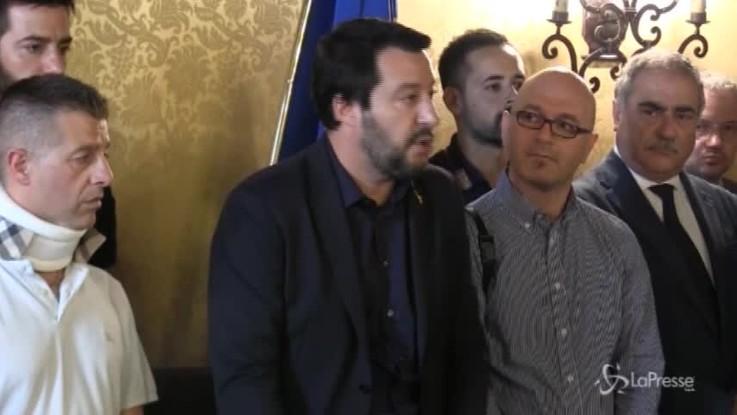 """Salvini: """"La Nato ci difenda, siamo attaccati da Sud"""""""