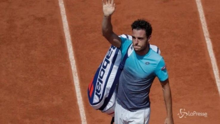 Roland Garros, finisce il sogno di Cecchinato