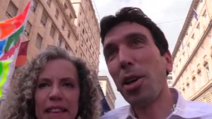 """Roma Pride, Martina e Cirinnà: """"Sui diritti non si torna indietro"""""""