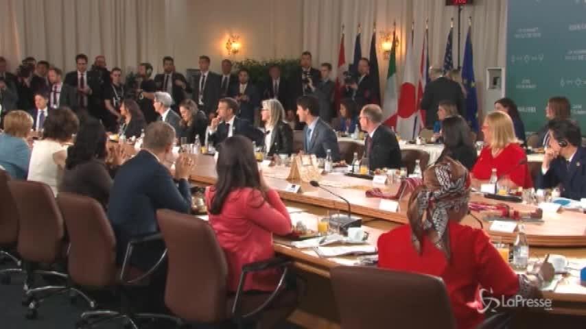 Si chiude il G7 in Canada, si cerca la mediazione con Trump