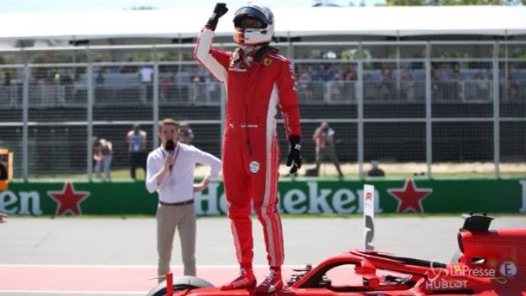 F1, pole position di Vettel in Canada