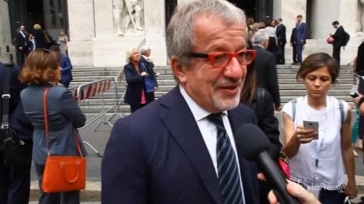 """Governo, Maroni: """"Contratto Lega-M5s? Aspettiamo i fatti"""""""