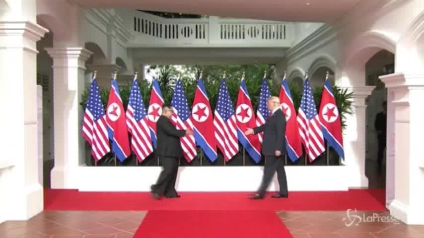 A Singapore l'incontro tra Trump e Kim